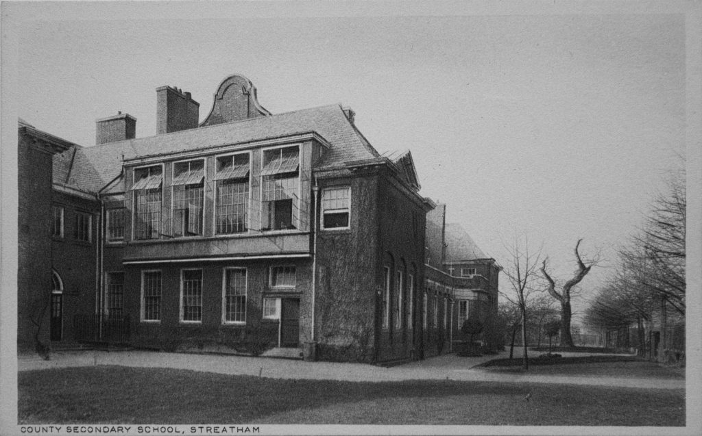 Old photo of Streatham County Secondary School